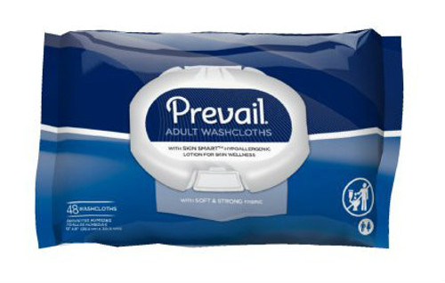 Prevail Personal Washcloths with Aloe & Vitamin E