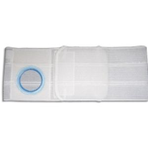 """Nu-Hope Hernia / Ostomy Support Belt - 6"""" Wide, 2-3/8"""" Opening, Right Side Stoma"""