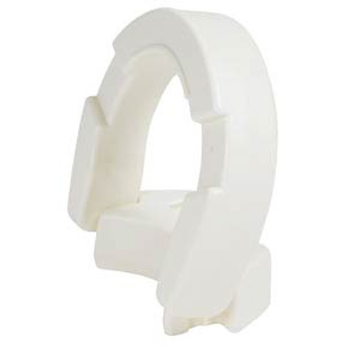 Hinged Toilet Seat Riser for Standard or Elongated