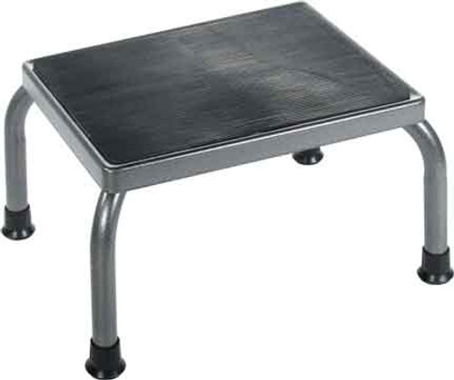 Drive's Foot Stool 13030-1SV is available as platform only or with optional Handrail (item# 13030-2SV)