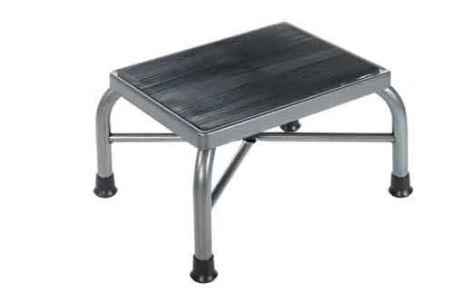 Drive Heavy Duty Bariatric Footstool is available as the platform only (shown) or with a handy handrail.