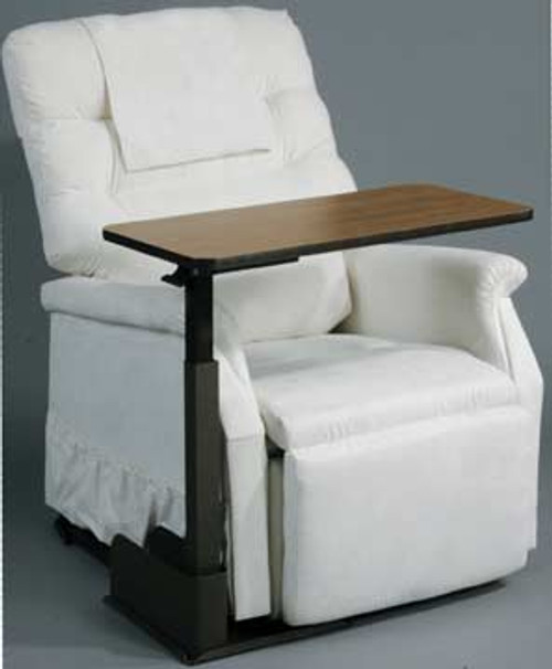 "Seat Lift Chair Overbed Table, 23.5"" to 33"" Height"