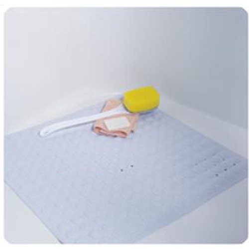 No-Skid Cushioned Shower Mat with Drainage Holes