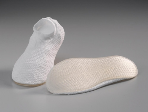 White Shower Slippers, Adult