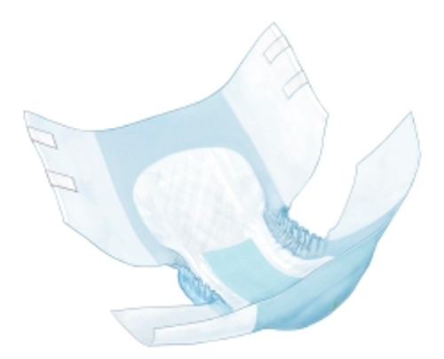 Simplicity Disposable Adult Quilted Briefs Bag of 10