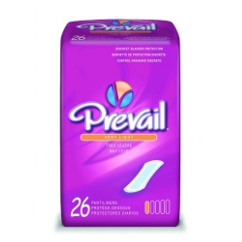 """Prevail Bladder Control Pads - Very Light, 7.5"""" L Case of 312"""
