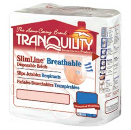 Tranquility SlimLine Tab Closure Briefs for Youth - Heavy Absorbency
