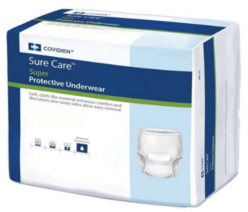Sure Care Super Protective Pull On Underwear - Maximum Absorbency