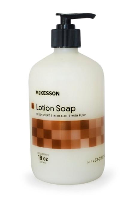 McKesson Soap Lotion Pump Bottle, 18 oz. - Fresh Scent