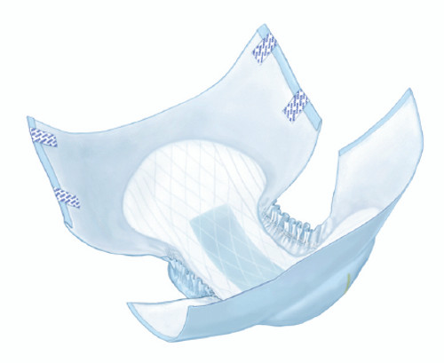 Wings Choice Plus Youth Briefs with Tab Closure - Heavy Absorbency