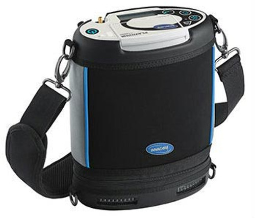 The Invacare Platinum Mobile Oxygen Concentrator POC1-100B is designed for convenience and ease of use by oxygen users on-the-go.