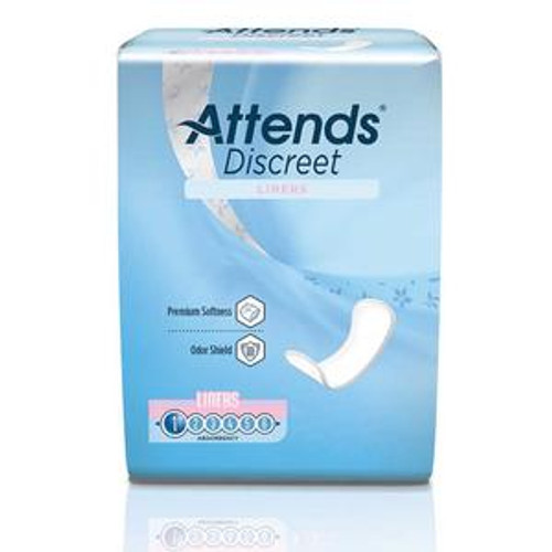 Attends Discreet Panty Liner - Light Absorbency