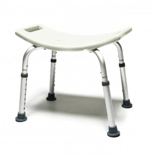 "Lumex Platinum Collection Adjustable Height Bath & Shower Seat - 20""W x 19""D"