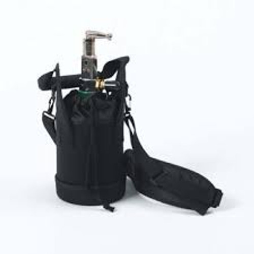 Cylinder with Post Valve & Carry Bag for Invacare HomeFill Oxygen System
