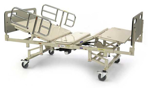 The BAR750 Bariatric Hospital Bed is highly adjustable and has weight capacity of 750 Lbs.