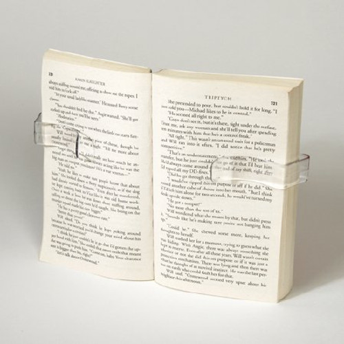 Maddak's Book Holder is a useful tool for those with diminished dexterity.