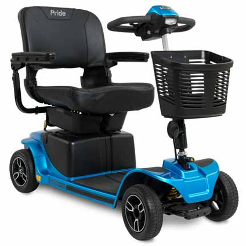 Revo 2.0 w/ CTS Suspension 4-Wheel Scooter in Blue