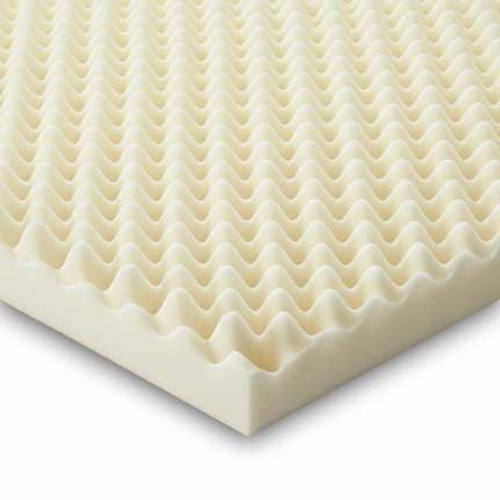Essential Convoluted Foam Bed Pads - Twin, Full, Queen & King Sizes