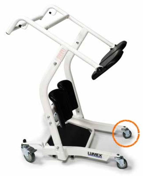 """Lumex 3"""" Replacement Front Caster for LF1600 (Non-Locking). Lumex Stand Assist Lift LF1600 sold separately."""