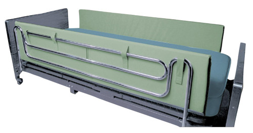 "Drive Medical Foam Side Rail Bumper Pads protect patients from the hard surface of rails and help reduce the entrapment incidences. These foam side rail bumpers are 14""H x 1.5""D and available in lengths of 36"", 48"" and 72"" to accommodate almost any rail length."