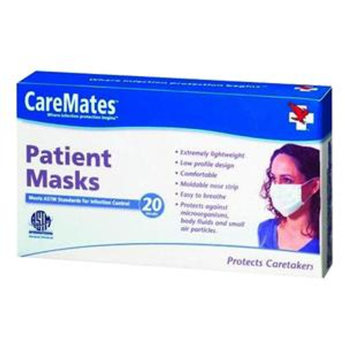 CareMates Earloop Patient Mask (Box of 20)