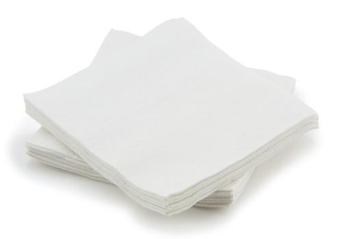 "McKesson 13"" x 13"" Disposable Washcloth (Case of 500)"