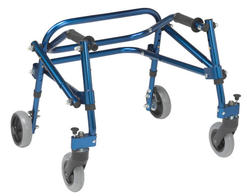 Drive Medical Nimbo Posterior Walker (shown in Knight Blue)