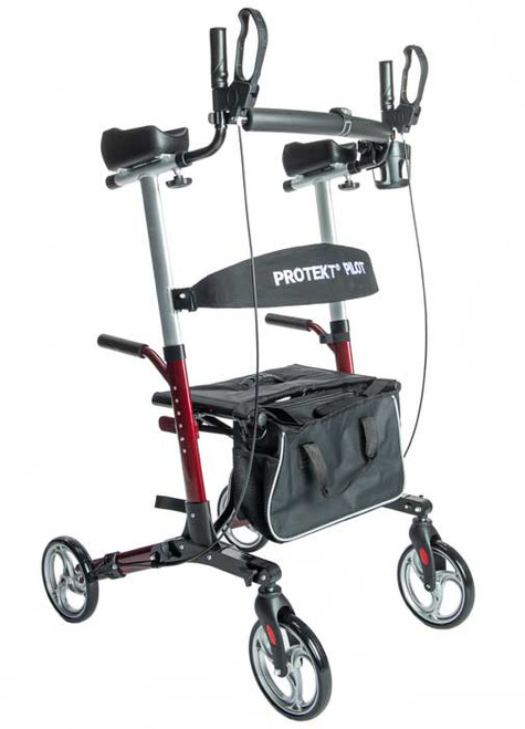 The Protekt PILOT Upright Walker is a revolutionary solution for today's mobile seniors—Promoting safe, stable, comfortable mobility, and improved posture.