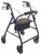 ProBasics Steel Rollator with Loop Brakes - Blue