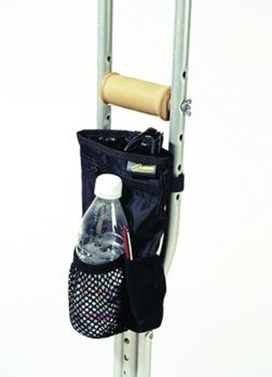 """Homecare Products Universal Crutch Pouch, 10"""" x 5.5"""" x 1.75"""""""