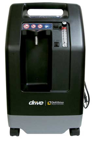 The Drive DeVilbiss 10 LPM (liters per minute) Oxygen Concentrator 1025DS is built to provide oxygen to those with various flow needs. Made in the U.S.A with durability, performance and simplicity in mind, the 1025DS is light weight and easy to operate.