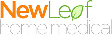 NewLeaf Logo - Click to visit the NewLeaf Home Medical home page
