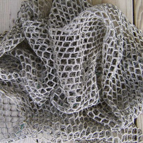 Vintage Style Thick Fishing Net  Nautical Seasons