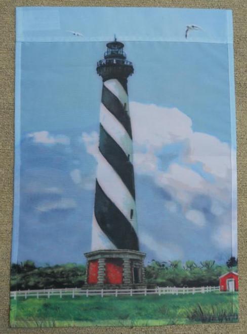 Cape Hatteras Lighthouse Flag Nautical Seasons