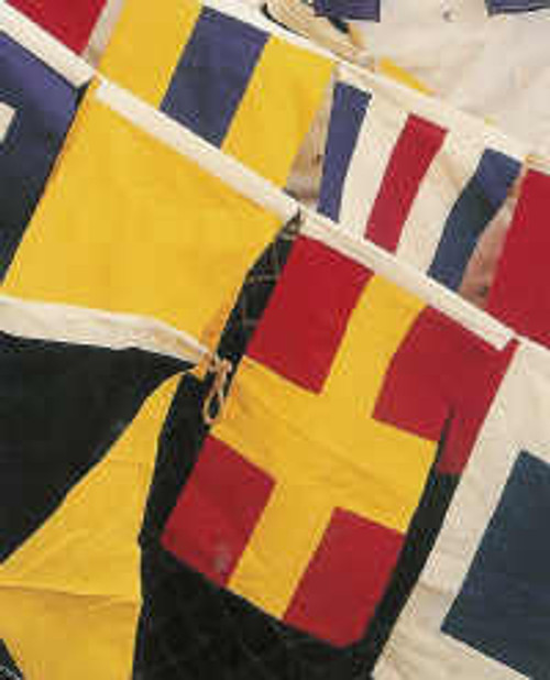 Signal Code Boat Flags Set of 40  Nautical Seasons
