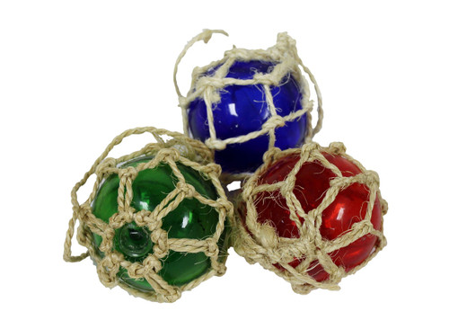 Glass Float Ornaments  Nautical Seasons