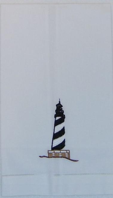 Lighthouse Hand Towel Nautical Seasons