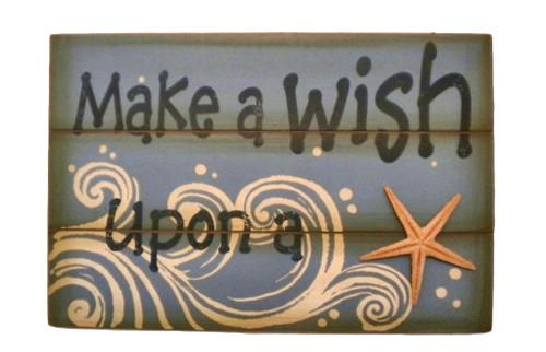 Make a wish upon a Starfish Sign