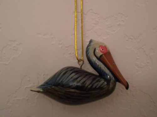 Pelican Ornament  Nautical Seasons