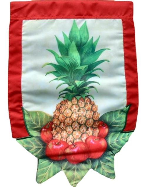 Pineapple Garden Size Flag  Nautical Seasons