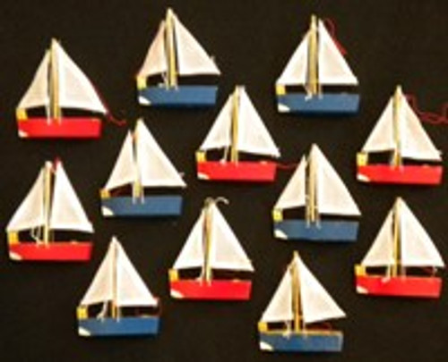 Dozen Sailboat Party Favors  Nautical Seasons