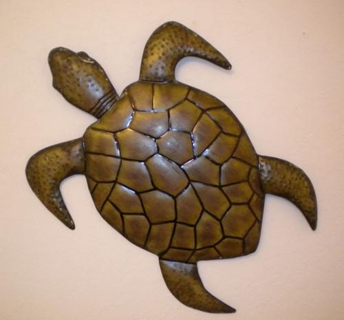 Large Wall Turtle Nautical Seasons