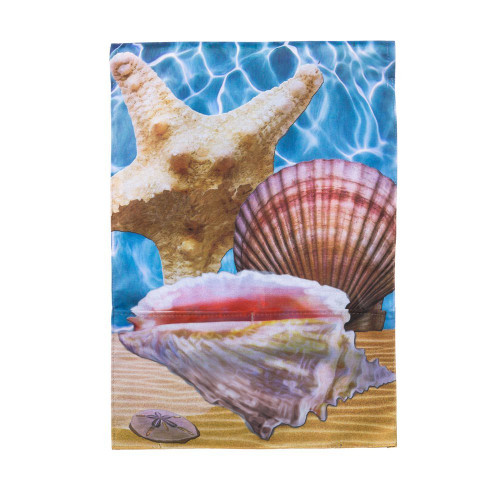 Starfish Shell Garden Flag Nautical Seasons