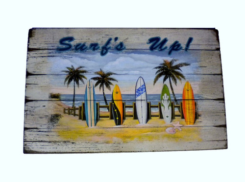 Surf Board Sign  Nautical Seasons