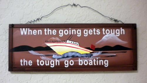 Boating Sign Nautical Seasons