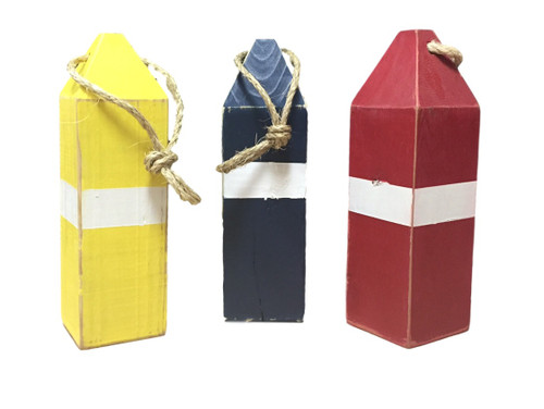 Nautical Seasons  Wooden Buoy