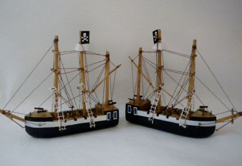 Pirates Ship Decoration  Nautical Seasons