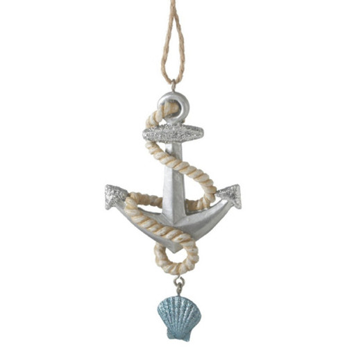 Anchor and Rope Ornament