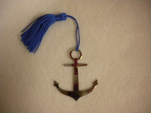 Anchor Bookmark Nautical Seasons