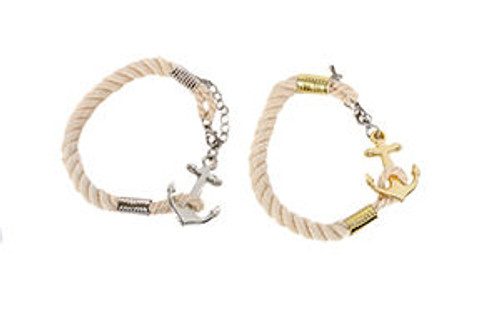Nautical Anchor Bracelet  Nautical Seasons
